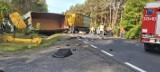 Śmiertelny wypadek na trasie Zielona Góra - Nowogród Bobrzański