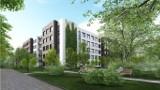 Wiemy, jak będą wyglądać prywatne akademiki w Sopocie. BaseCamp powstać ma na działce przy ul. 1 Maja [wizualizacje]