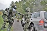 Opolscy logistycy zaatakowani bronią chemiczną. Ćwiczenia na poligonie wojskowym w Winowie