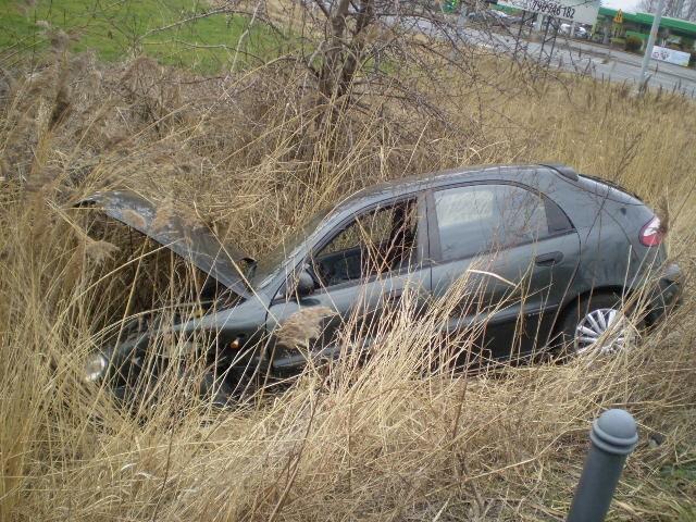 Wypadek na ulicy Luboszyckiej.