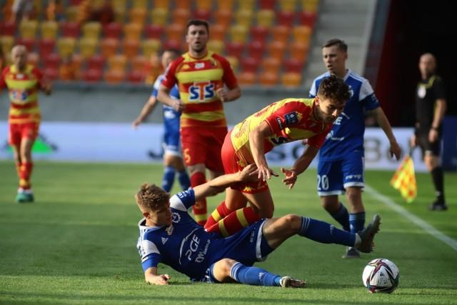 Jagiellonia - Stal 1:1. Tak przebiegała walka na stadionie przy Słonecznej.
