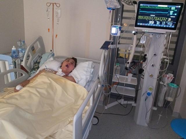Rodzina wierzy, ze Dominika odzyska pełną sprawność i wróci do zdrowia.