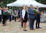 Treblinka. Uroczystości na terenie Obozu Zagłady Treblinka w rocznicę buntu w obozie. 2.08.2021. Zdjęcia