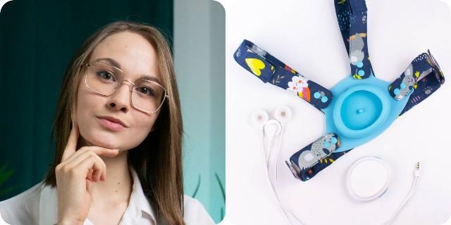 Zofia Hernas z Tarnowskich Gór zaprojektowała dziecięcy holter EKG