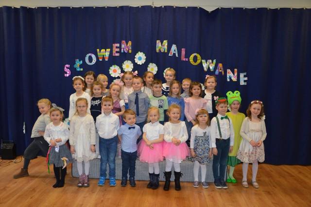 W konkursie uczestniczyło około 30 przedszkolaków.