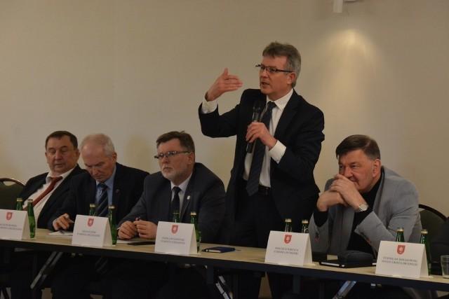 Posiedzenie Konwentu Powiatów Województwa Kujawsko-Pomorskiego w gminie Ciechocin