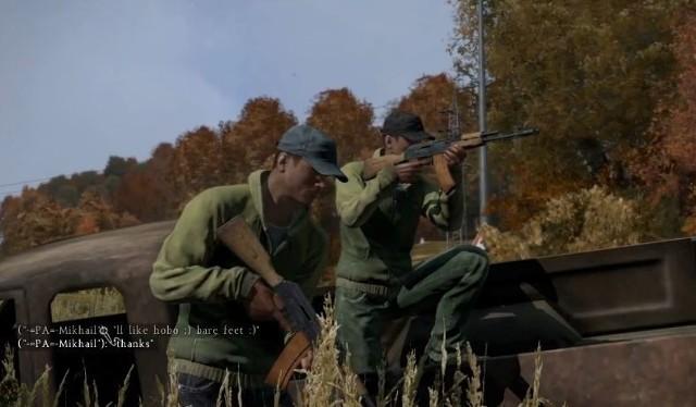 Gra DayZDayZ: Zombie maszerują trochę wolniej (wideo)