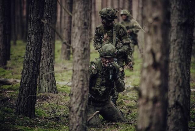 Ponad 400 żołnierzy 1 Podlaskiej Brygady OT ćwiczy obecnie na poligonach w Nowej Dębie i w Orzyszu.