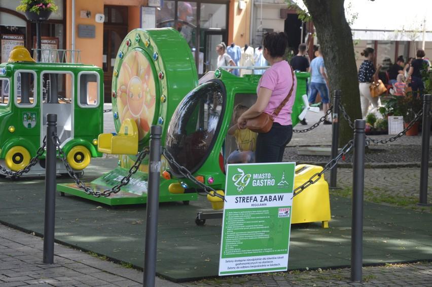 Strefa dla dzieci przy ratuszu w Zielonej Górze