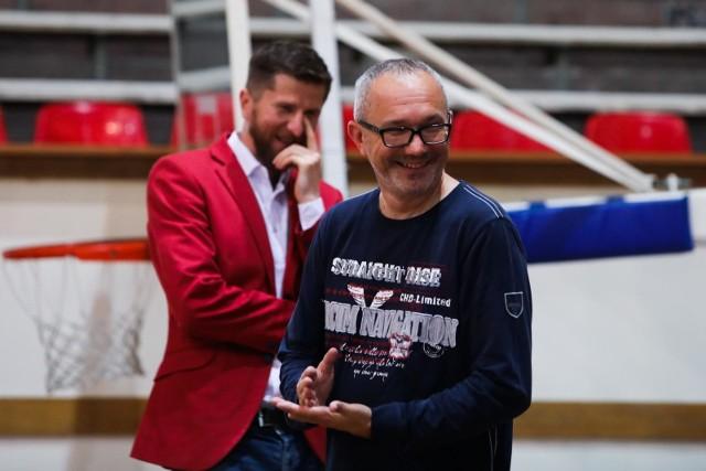 Tomasz Jażdżyński, przewodniczący rady nadzorczej Wisła SA i Rafał Wisłocki, prezes TS Wisła
