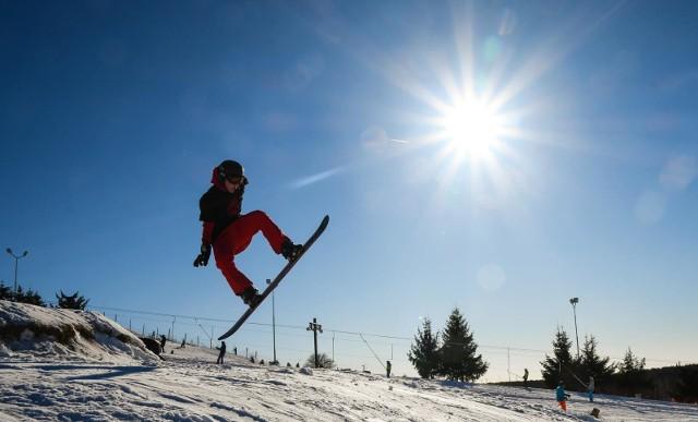 Warunki do jazdy na nartach i desce są doskonałe.