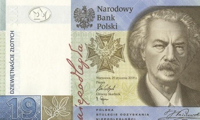 Pierwszy polski banknot kolekcjonerski został wyemitowany przez Narodowy Bank Polski w 2006 r.  Do tej pory do rąk kolekcjonerów trafiło 11 banknotów. Ile teraz są warte?Banknoty kolekcjonerskie są prawnym środkiem płatniczym,  można posługiwać się nimi na takich samych zasadach, jak banknotami obiegowymi. Warto jednak pamiętać, że osiągają one na rynku kolekcjonerskim wartość wyższą od nominału.Najnowszy banknot, o nominale 19 zł,  wszedł do obiegu 2 października. Można go było kupić za 80 zł. Dziś na portalach akcyjnych oferowany jest za cenę ponad trzykrotnie wyższą. Na następnych slajdach  przedstawiamy wszystkie banknoty kolekcjonerskie. Podajemy też ich wartość emisyjną i orientacyjną wartość rynkową.