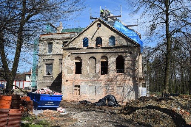 Pałac w Baranowicach będzie gotowy późniejZobaczkolejnezdjęcia. Przesuwajzdjęcia w prawo - naciśnij strzałkę lub przycisk NASTĘPNE