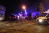 Śmiertelny pożar na Krośnieńskiej w Łodzi. Strażacy ewakuowali lokatorów [ZDJĘCIA, FILM]