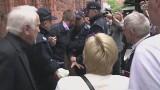 Incydent w Toruniu. 34-letni mężczyzna chciał zaatakować prezydenta Bronisława Komorowskiego (wideo)