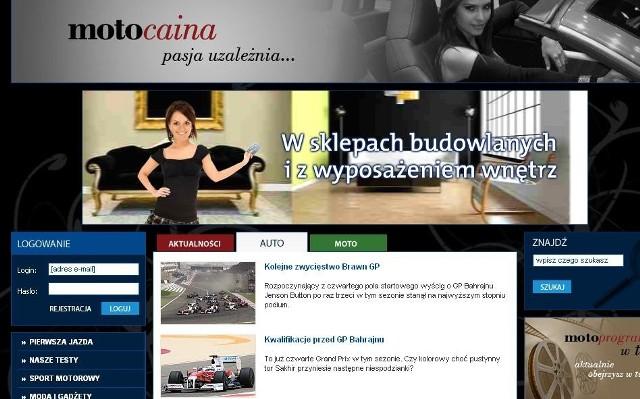 Strona składa się z dwóch podstawowych działów: auto i moto. Na każdym z nich kobiety w różnym wieku znajdą interesujące je informacje. (www.motociana.pl)