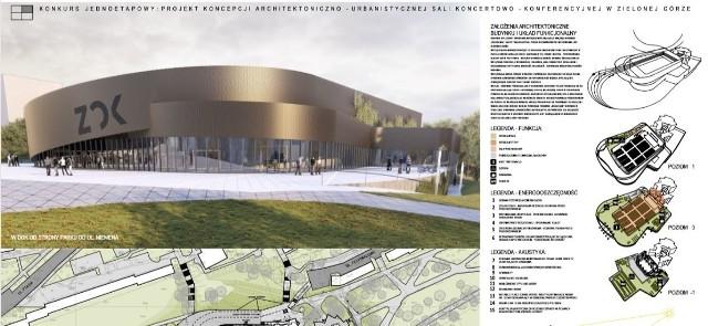 W poniedziałek, 17 lutego, jury konkurs wybrało najlepszy projekt na modernizację zielonogórskiego amfiteatru. Warto jednak wiedzieć, że o laur zwycięzcy walczyło łącznie sześć. Przypomnijmy, zielonogórski magistrat chciałby, aby w przyszłości w miejscu obecnego amfiteatru powstała sala, którą funkcjonalnością przypominałby Stadthalle w naszym partnerskim mieście w Cottbus. Na ten cel miasto chciałoby przeznaczyć ok. 28 mln zł. Jak konkretnie wyglądałaby taka hala? O tym zdecydować miały wyniki konkursu architektonicznego.Ostatecznie najlepszy projekt zaprezentowało Heinle, Wischer und Partner Architekci – biuro architektoniczne z Wrocławia. Obejrzyjcie na zdjęciach, jak wyglądały wszystkie pomysły architektów.Projekt biura MROZIUK ARCHITEKTURA z Czernicy.