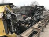 Wypadek na trasie S1 w Sosnowcu ZDJĘCIA Zderzyły się dwie ciężarówki. Korek miał 5 km długości