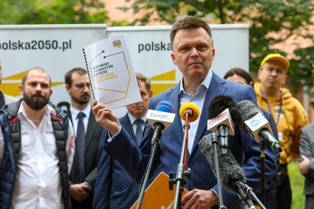 Szymon Hołownia w Szczecinie