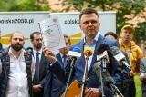 Dwudniowa wizyta Szymona Hołowni w Zachodniopomorskiem: w Szczecinie, Policach, Myśliborzu