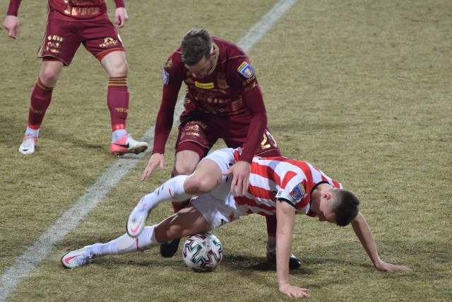 Chojniczanka przegrała z Cracovią w ćwierćfinale Pucharu Polski