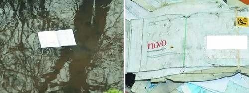 W tym strumieniu w Toruniu dryfowały przesyłki... wśród nich były rachunki i wyciągi bankowe