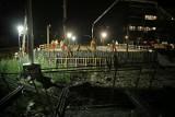 Tramwaj na Nowy Dwór. Cała noc betonowania przy wiadukcie nowej trasy (ZDJĘCIA)