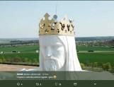 Anteny na głowie figury Jezusa Chrystusa w Świebodzinie. Mamy oświadczenie kurii diecezjalnej w Zielonej Górze