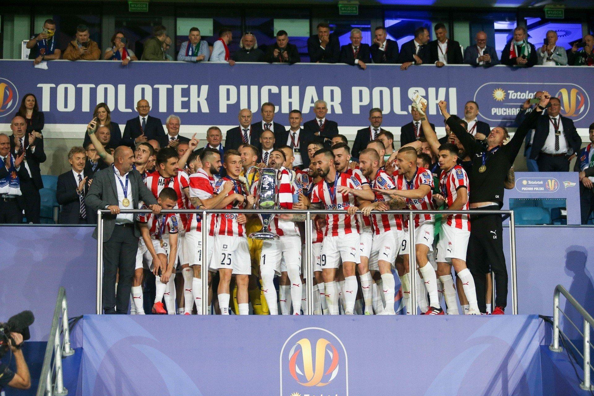Cracovia zdobyła pierwszy raz Puchar Polski! Pierwsze ...