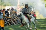 Rekonstrukcja bitwy pod Hodowem. Zobacz, jak husaria szarżowała na Tatarów [ZDJĘCIA]