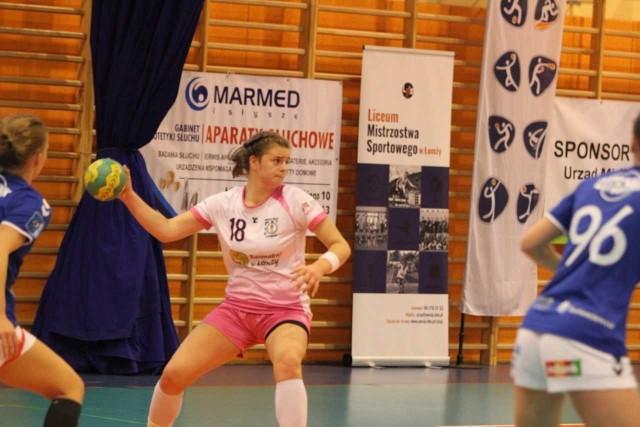 Michalina Gryczewska w meczu z drużyną z Łodzi była najskuteczniejszą zawodniczką Dwójki Łomża