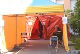 Złodzieje okradli szpital w Drezdenku. Zabrali sprzęt strażaków, który był potrzebny medykom. Skandal!