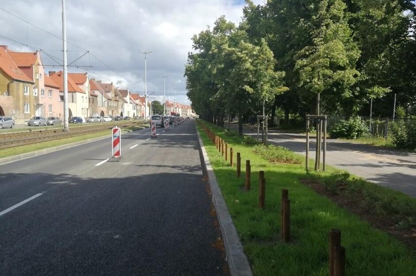 Koniec prac remontowych na alei Hallera w Gdańsku Wrzeszczu. Powrót do normalnego ruchu samochodów
