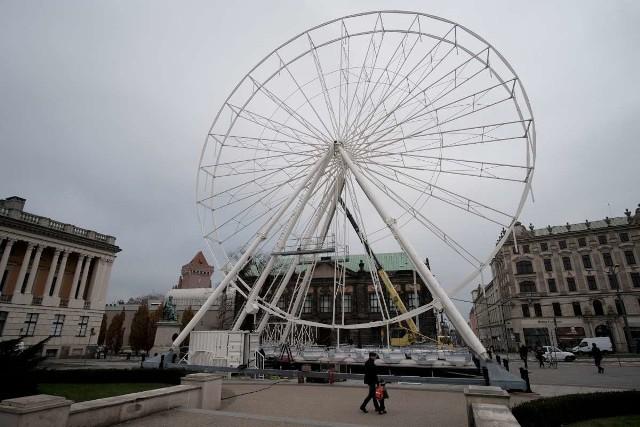 Jarmark na placu Wolności będzie funkcjonował od 18 listopada do 22 grudnia.
