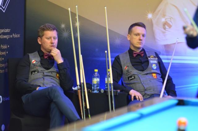 Dobrze, ale nie bardzo dobrze zaprezentowali się obrońcy tytułu mistrzowskiego Nosan Kielce w drugim tegorocznym zjeździe Bilardowej Ekstraklasy.