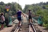 Radny sejmiku: Nie ma sensu wysadzać Mostu Pilchowickiego. Przeprawa potrzebuje niewielkiego remontu i mogą tamtędy jeździć pociągi