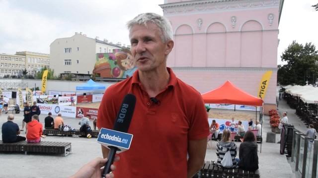 Mirosław Ziętkowski, współorganizator BeachBall Radom 2018.