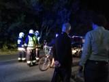 Wypadek w Chałupach (11.07.2018). Nocna stłuczka: 25-latek z Tczewa wjechał w tyłu suzuki mieszkańca powoatu puckiego   ZDJĘCIA
