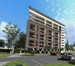 Tak będzie wyglądać apartamentowiec firmy Becher przy ulicy Wiosennej w Kielcach