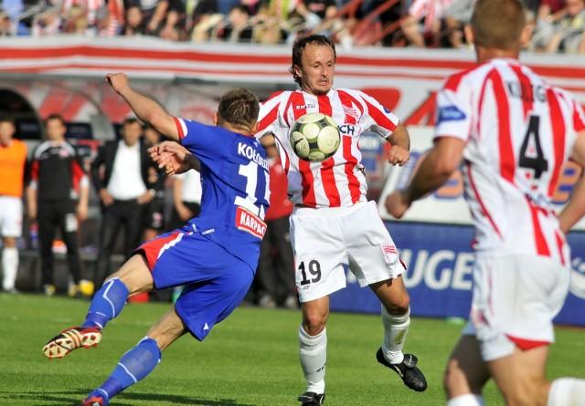 Paweł Nowak przez siedem lat grał w Cracovii, awansował z nią do ekstraklasy