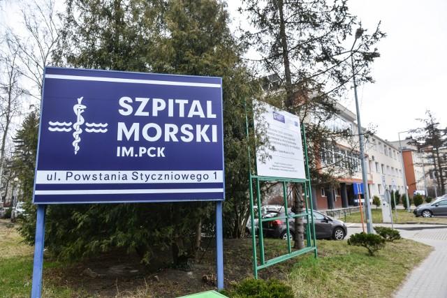 Szpital Morski im. PCK w Gdyni w Gdyni.