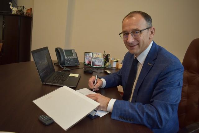 Burmistrz Marek Cebula opowiada o nowym projekcie turystycznym, którego Krosno Odrzańskie będzie liderem