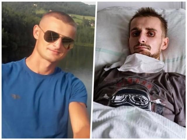 Norbert Głuchowski przeżył wypadek samochodowy. Teraz walczy o powrót do pełnego zdrowia i sprawności.