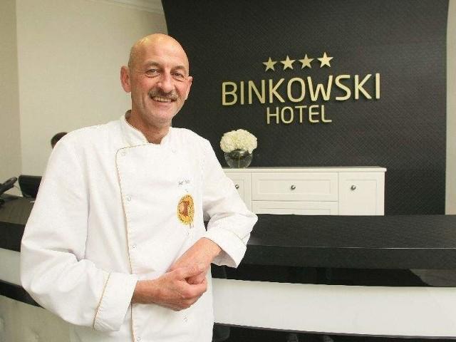 Jean Bos, nagrodzony w 2006 roku tytułem Najlepszego Kucharza Świata, został szefem kuchni kieleckiego Binkowski Hotel.
