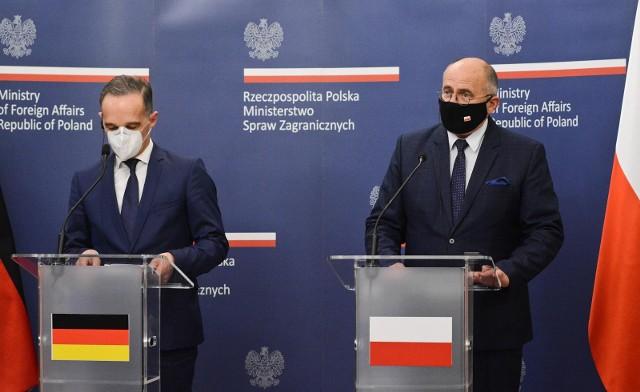 Spotkanie szefów MSZ Polski i Niemiec. Brak porozumienia ws. reparacji
