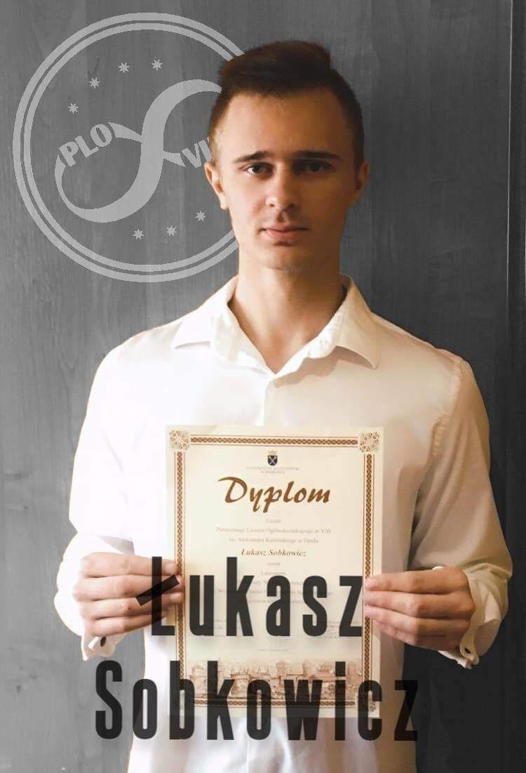 Łukasz Sobkowicz, laureat Olimpiady Chemicznej