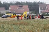 Katastrofa śmigłowca w Domecku. Na pokładzie był biznesmen z powiatu lublinieckiego razem z synami