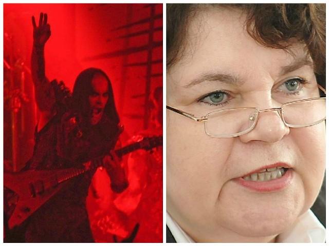 Po koncercie Nergala z zespołem Behemoth, posłanka PiS Anna Sobecka oskarża UMK o promocję satanizmu