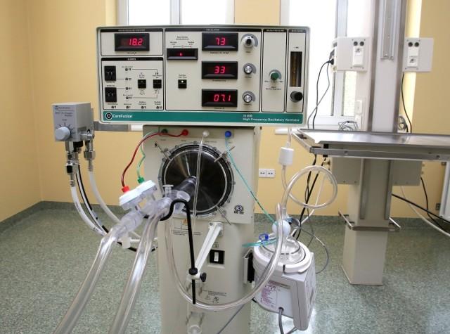 W Kujawsko-Pomorskiej w użyciu są aktualnie 93 respiratory