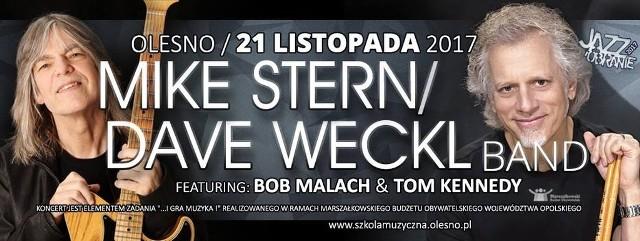 Gwiazdą tegorocznego Jazzobrania będzie Mike Stern/Dave Weckl Band